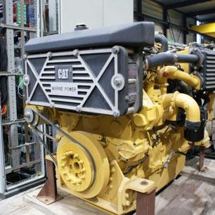 Marine engine CAT C-18 DI-TA - Lamy Power special deal