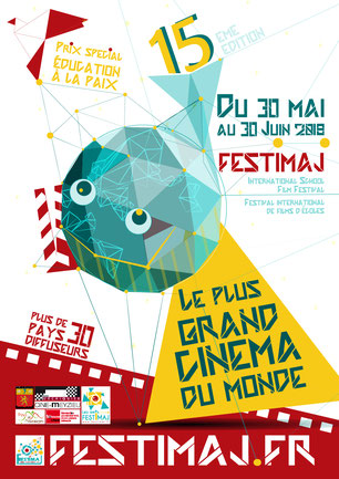Affiche Festimaj 2018 réalisation Valérie Zloty