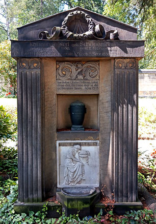 Grabmal Ehlert Johannisfriedhof Bild: Susann Wuschko