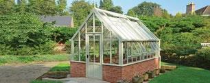 englisches Gewächshaus von Hartley Botanic, Modell Alpine