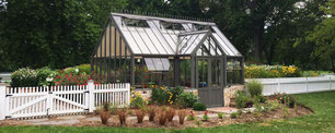 Englisches Gewächshaus von Hartley Botanic, Modell Lodge
