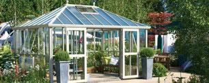 """Gewächshaus, Modell """"Westminster """"  ,von Hartley Botanic aus England"""