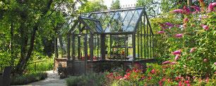 Viktorianisches Gewächshaus von Hartley Botanic Modell Villa
