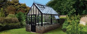 """Das englische Gewächshaus Modell """" Classic"""" von Hartley Botanic"""