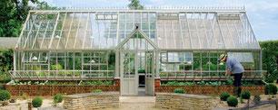 Englisches Gewächshaus von Hartley Botanic, Modell Grand Manor