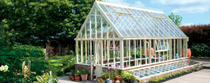 Englische Gewächshäuser von Hartley Botanic, Modell Grand Gallery