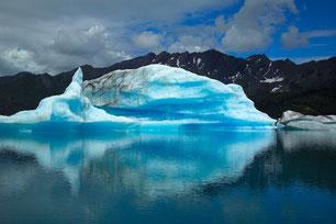 Schmelzender Eisberg