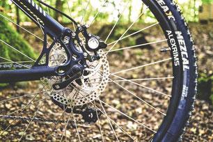 Bremsen am Fahrrad
