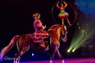Hufspuren pferdefotografie bei Apassionata Im Bann des Spiegels