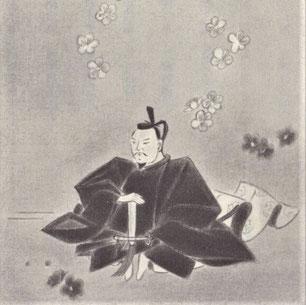 菅原道真公像(吉田銀治氏画)