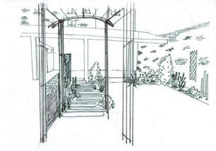 Esquisse jardin: conception personnalisée de votre jardin