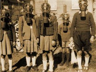 Essai des masques (source musée de Turckheim)