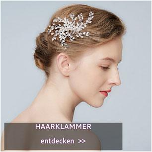 Haarklammer Haargesteck Fascinator