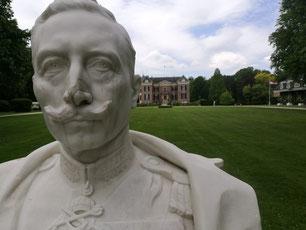Büste Wilhelm II in Doorn