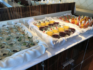 Mini-Buffet im Rossini // © Cruise Paper