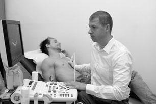 Dr. Gustav Huber - Ultraschalluntersuchung