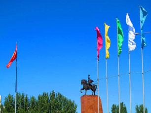 das Timur Helden-Denkmal