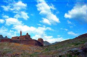 der Isaak Pascha Palast an der iranischen Grenze