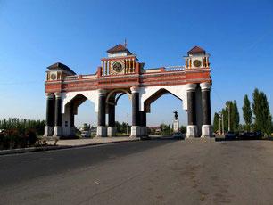 pompös das Jalalabad-Distrikt-Tor