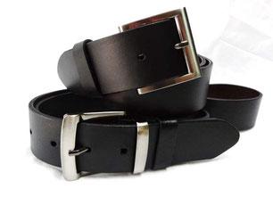 Diseñamos cinturones en piel para hombre y mujer