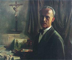 Gabriel Jurkić - Autoportret