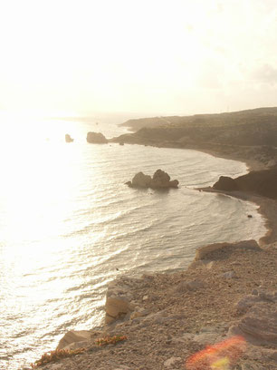 Meeresbucht Zypern