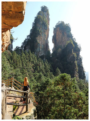 sightseeing zhangjiajie National parc nationalpark china view nature china