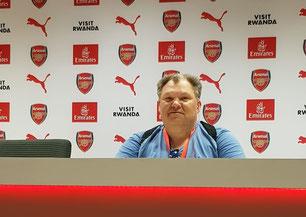 Knorre zu Gast beim FC Arsenal