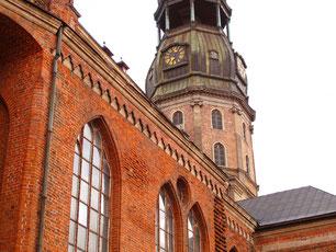 der Backstein-Dom - erbaut im 13. Jhd.