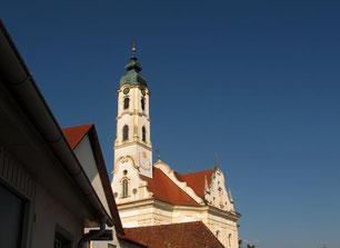 die barocke Klosterkirche Steinhausen