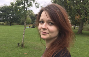 Ioulia Skripal, la fille de  l'ex-espion russe