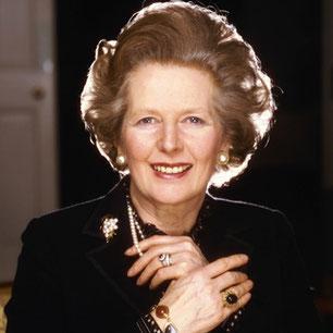 Margaret Thatcher, Lune fin Lion carré à Vénus début Sagittaire.