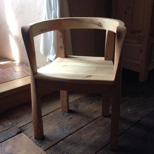 Exposition, fauteuil, ébénisterie, Floranne Blanc-Debrunne