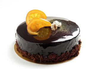 Torte Schokolade Lasur