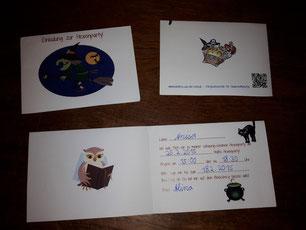 Einladungskarte von Kokolores-aus-der-Kiste natürlich passend zur Mitgebseltüte und Urkunde