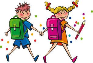 Tipps für den Schulstart, Kinder - Erstklässler / Erstklässlerinnen