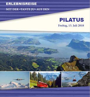 Freitag, 13. Juli 2018 - Tagesausflug - Pilatus