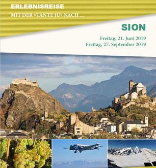 Freitag, 21. Juni 2019 - Tagesausflug - Sion