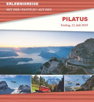 Freitag, 12. Juli 2019 - Tagesausflug - Pilatus