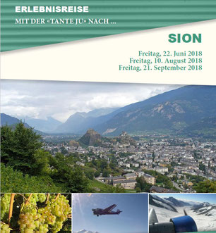 Freitag, 10. August 2018 - Tagesausflug - Sion