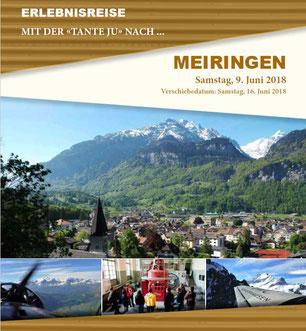 Samstag, 9. Juni 2018 - Tagesausflug - Meiringen