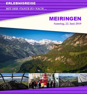 Samstag, 22. Juni 2019 - Tagesausflug - Meiringen