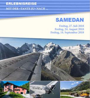 Freitag, 27. Juli 2018 - Tagesausflug - Samedan
