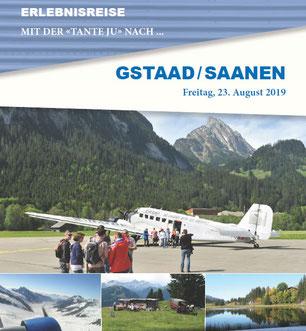 Freitag, 23. August 2019 - Tagesausflug - Gstaad / Saanen