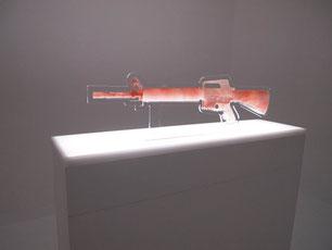 ヒグラシユウイチ SALT ARMS -M16A2-  2013 岩塩 100×22×6.5cm