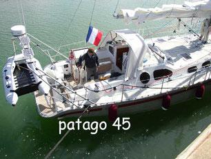 Voilier dériveur intégral aluminium Patago 45