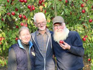 Foto: Frauke Büddig - Petra Schweim, Johannes Boysen, John Langley