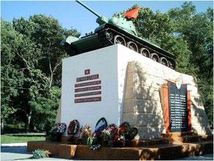 Памятник танкистам, погибшим при освобождении г.Карачев