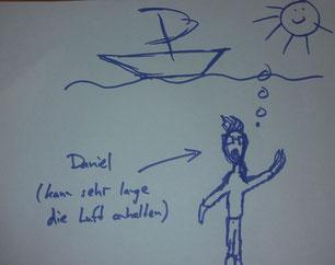 Daniel gemalt von Florian