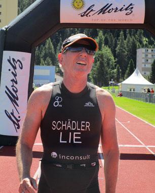 Philip Schädler 1. Rang Kat. 55-64 in St. Moritz